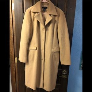Classic Wool Tea Length Pea coat